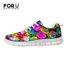 Womens Running Sport Shoes Woman Fashion Rose Mesh Cross Training Athletic Shoes