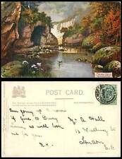 Raphael Tuck Sons Collectable Derbyshire Postcards
