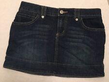 Juniors SO Wear It Declare It Mini Denim Jean Skirt Size 5 Short