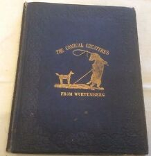 Wurtemberg The Comical Creatures 2nd Edition 1851 ** RARE TITLE **
