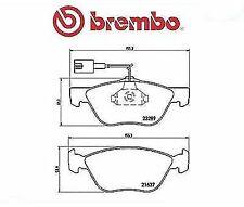 P23077 BREMBO KIT 4 PASTIGLIE PATTINI FRENO ANT FOR ALFA ROMEO GT 1.9 MOT. 937A5