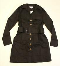 & Other Stories Women's Belted Workwear Mini Dress AB3 Black Size US:10 NWT