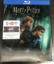 Harry Potter and the Deathly Hollows Part 1 (Blu-ray, 2019) W/ LEGO SLIPCOVER