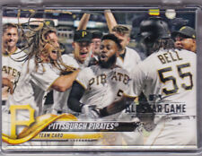Pirates TEAM SET Josh Bell Tyler Glasnow + 2018 All-Star Topps Silver Foil Stamp