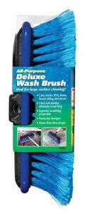 "Unger 9"" Nylon  Bristle Wash Brush for Cars, Boats, Decks, Siding, Windows NEW!"