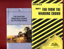 Far from the Madding Crowd by Thomas Hardy + Cliffs Notes study guide -Free ship