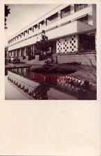 "RPPC - PARK SAADIHOTEL, SHIRAZ-IRAN 1950""s era auto"