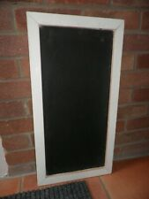 Handmade wooden message / chalk /black board sign / made from reclaimed wood