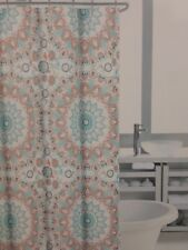 "Cynthia Rowley Tapestry Medallion Fabric Shower Curtain 72"" x 72"" NIP"
