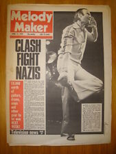 MELODY MAKER 1978 APR 15 GENESIS CLASH DAMNED TUBES