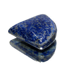 58.65Cts. Beautiful Natural Lapis Lazuli Pear Cabochon Gemstone stone-CH 3672
