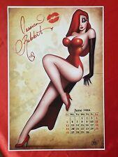 Fridge Magnet Jessica Rabbit Harley Quinn Crazy Chick cartoon pin-up girl art R