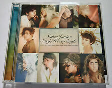 Super Junior The 6th Album Sexy Free & Single Japan Press CD+DVD NO Photocard