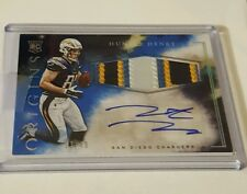 2016 Panini Origins Hunter Henry RC 4-Clr Jersey Auto RPA BLUE SP /49 Chargers