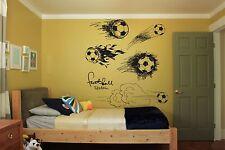 Wall Room Decor Art Vinyl Sticker Mural Decal Football Sport Fan Champion FI257