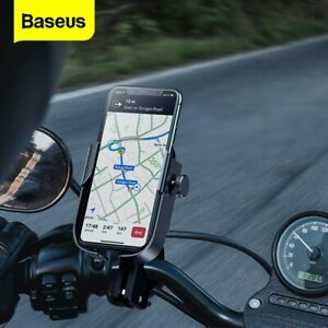 Baseus Mobile Phone Holder Handlebar Mount 360° Rotation for Motorcycle Bicycle