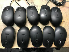 Lot of 10 Genuine Dell USB Optical Mouse N231