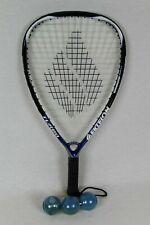 """Ektelon """"Turbo"""" Racquetball Racket, power level 1100 plus 3 Ektelon balls"""