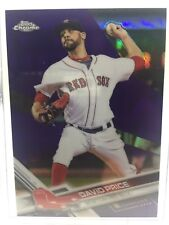 2017 Topps Chrome Purple Refractor David Price 222/299 Red Sox