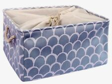 Foldable Storage Baskets Bin Organizer(Light Gray,Xl)