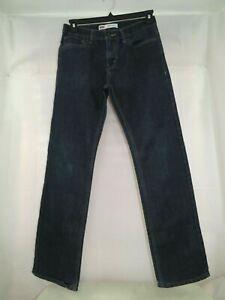 Levis Men's Dark Blue Jeans 511 Slim Fit Size 20 Regular 30 x 30
