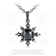 Alchemy Gothic Pewter Chaosium Pendant Necklace Metal-wear P501