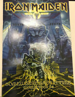 IRON MAIDEN Somewhere Back In Time Official 2008 World Tour Programme FastPost📦