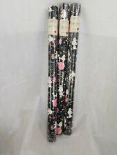 Punch Studio Cynthia Hart Christmas Gift Wrap Paper Poodle Black White Pink 3 pk