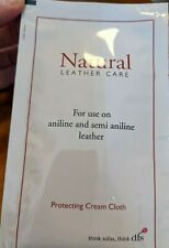 Natural Leather Care Protecting Cream Cloth