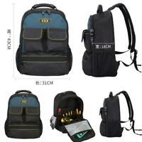 Professional Tool Bag Work Bag Jobsite Backpack Engineer Tool Laptop Backpack