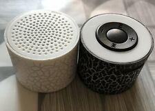2 X Mini Portable LED Speakers NEW