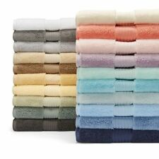 Hudson Park Luxe Turkish Cotton Bath Sheet WHITE Towel NEW