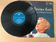 Christmas Carols From Guildford Cathedral - Vinyl Record LP Album - MFP 11104