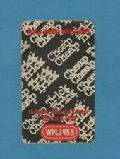 Cheap Trick concert sticker Wplj Radio March 5, 1981 Rutgers Athletic Center