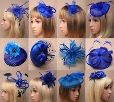 Bibis et bijoux de cheveux bleus pour femme