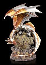 Steampunk Drachen Figur - Mechanic Wings - Deko Fantasy Statue