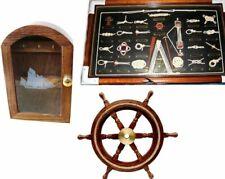 3er Set Key Box / Steering Wheel With Tau / Nodes Table -knoten - English