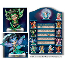 Perpetual Calendar Jasmine Becket-Griffith Fairy Figurine Set of 2 - Issue Two