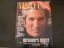 Richard Gere, Michael Jackson, Giorgio Armani - Vanity Fair Magazine 1994