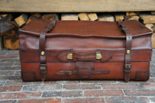 Hard Leather Expandable Suitcases