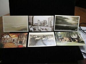 ALASKA Stikine Stampede Midnight Sun Reindeer Norman Lowell Vintage Postcard LOT