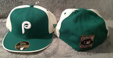 Philadelphia Phillies New Era 59FIFTY Fitted Hat Cooperstown MLB Green 7 3/4