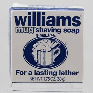 Palmolive and William's Mug Shaving Soaps (Pre-Owned - Never Used)
