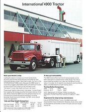 Truck Brochure - International - 4900 - Tractor  (T1828)