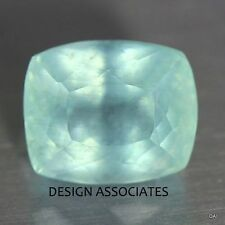 AQUAMARINE 14X12 MM CUSHION CUT OUTSTANDING  COLOR ALL NATURAL  MOON GLOW