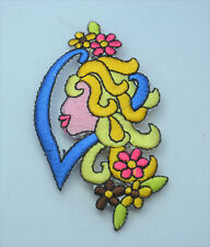VIRGO STAR SIGN HOROSCOPE 7cm  Embroidered Sew Iron On Cloth Patch Badge ZODIAC