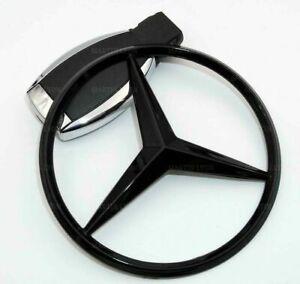 Mercedes Benz E Class W213 2016+ Gloss Black Rear Boot Badge Star A2138170116