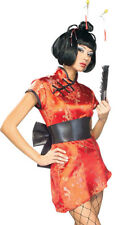 Rubies Japanese Geisha woman china Doll Halloween Costume S 4-6 Brand New