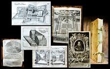 1640 Gartenkunst des Barock Baroque Garden Labyrinthe Labyrinth Furttenbach 35Pl