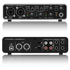 Behringer U-PHORIA UMC204HD USB 2.0 Audio Recording  Interface